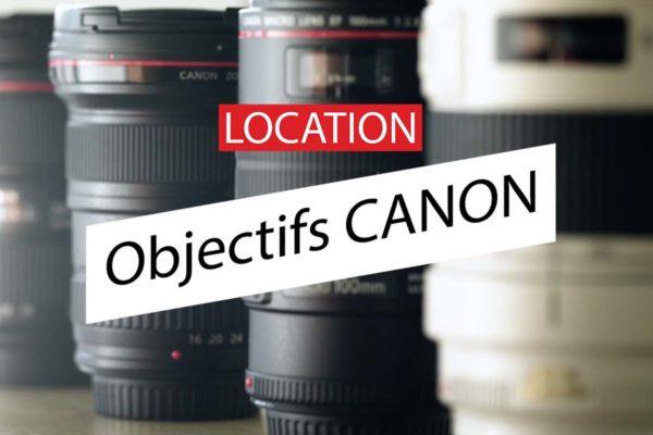 Objectifs cinéma Canon