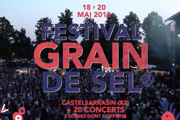 Festival Grain de Sel 2018